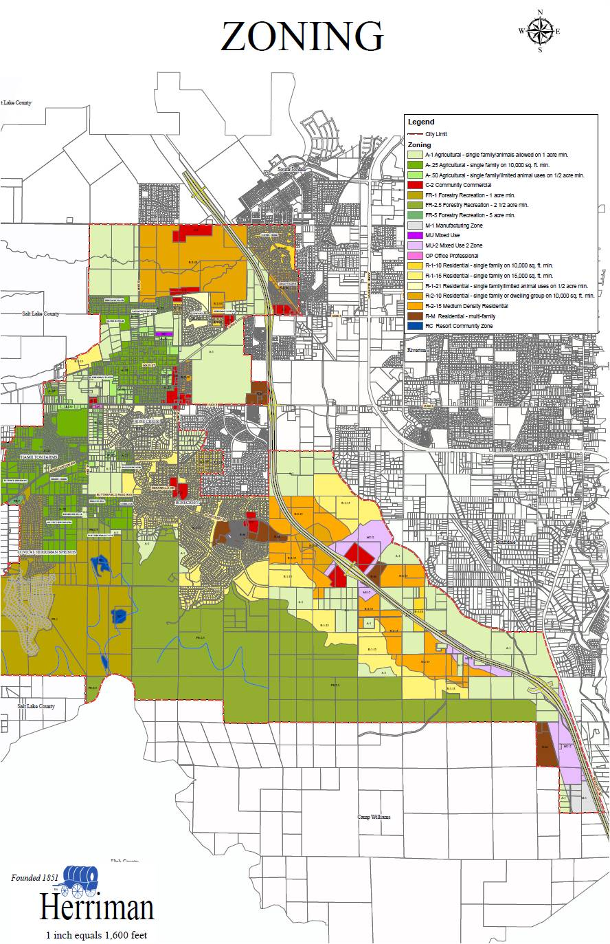 Salt lake city zoning map reproduced from mikedayherrimanleswordpress publicscrutiny Choice Image